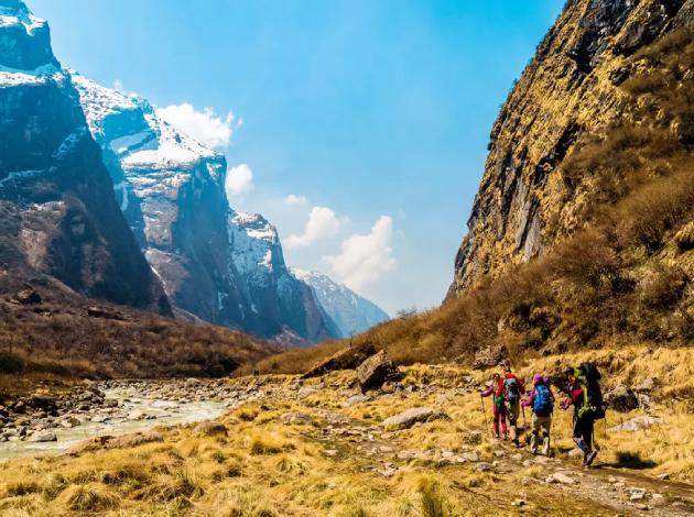 Annapurna Region Trek !